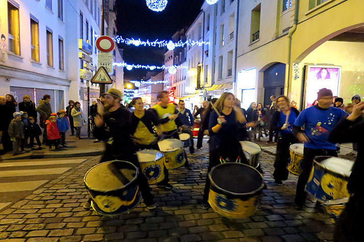 Christmas drummers